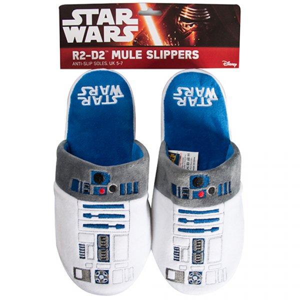 Bačkory Star Wars - R2-D2 - Pánské dárky 380ccc25b1