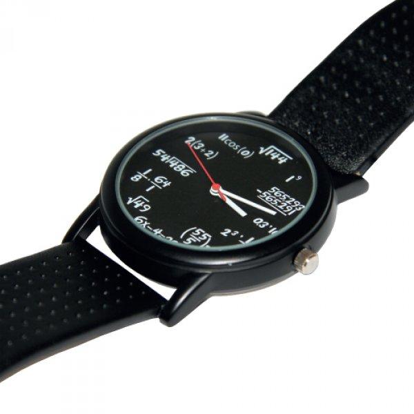 Matematické náramkové hodinky - Pánské dárky 02aaf122b1