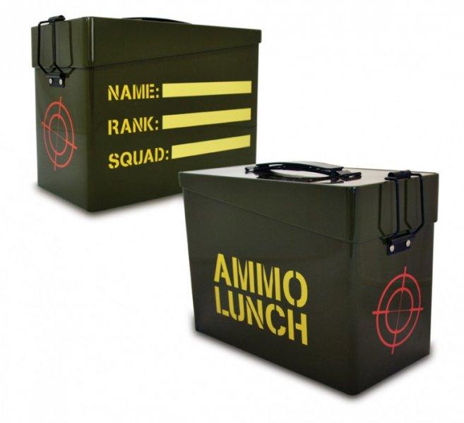 Svačinová krabička Ammo - Pánské dárky 1edd7db8aa