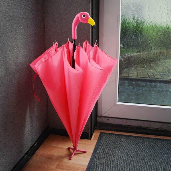 Deštník na Noze Plameňák - Pánské dárky d94711dd57